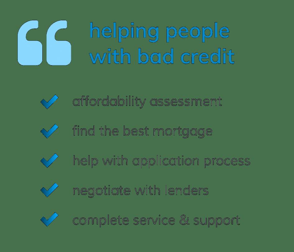 bad-credit-mortgage-advice