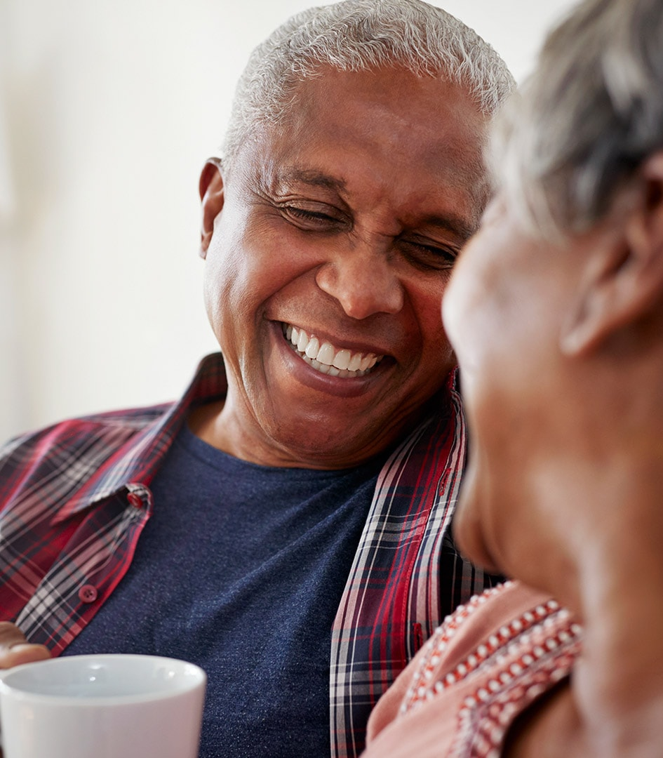 retired-couple-laughing
